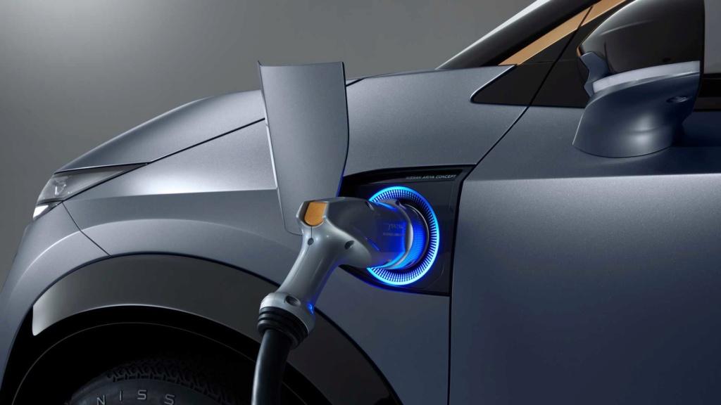 Nissan Ariya Concept antecipa estilo e tecnologia de novo SUV elétrico Nissan61