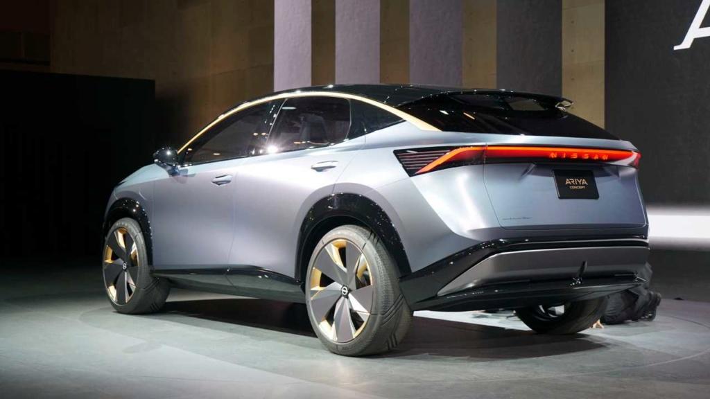 Nissan Ariya Concept antecipa estilo e tecnologia de novo SUV elétrico Nissan62