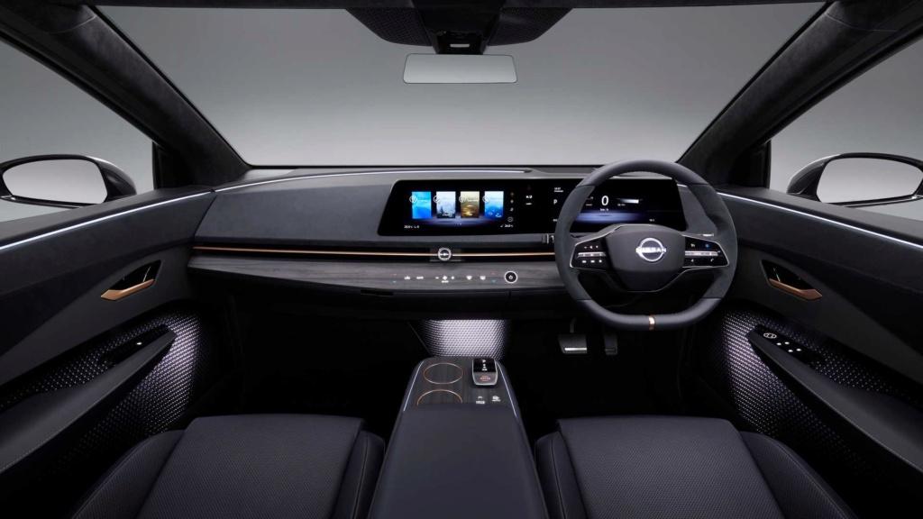 Nissan Ariya Concept antecipa estilo e tecnologia de novo SUV elétrico Nissan63