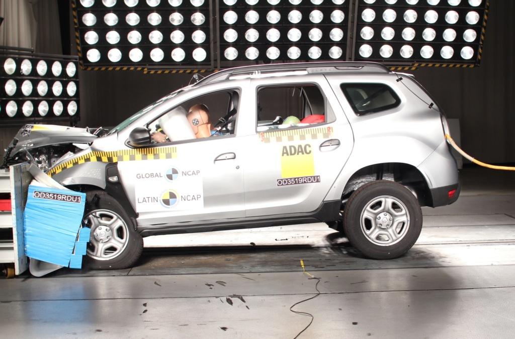 Novo Renault Duster recebe 4 estrelas em testes de colisão do Latin NCap Od351910