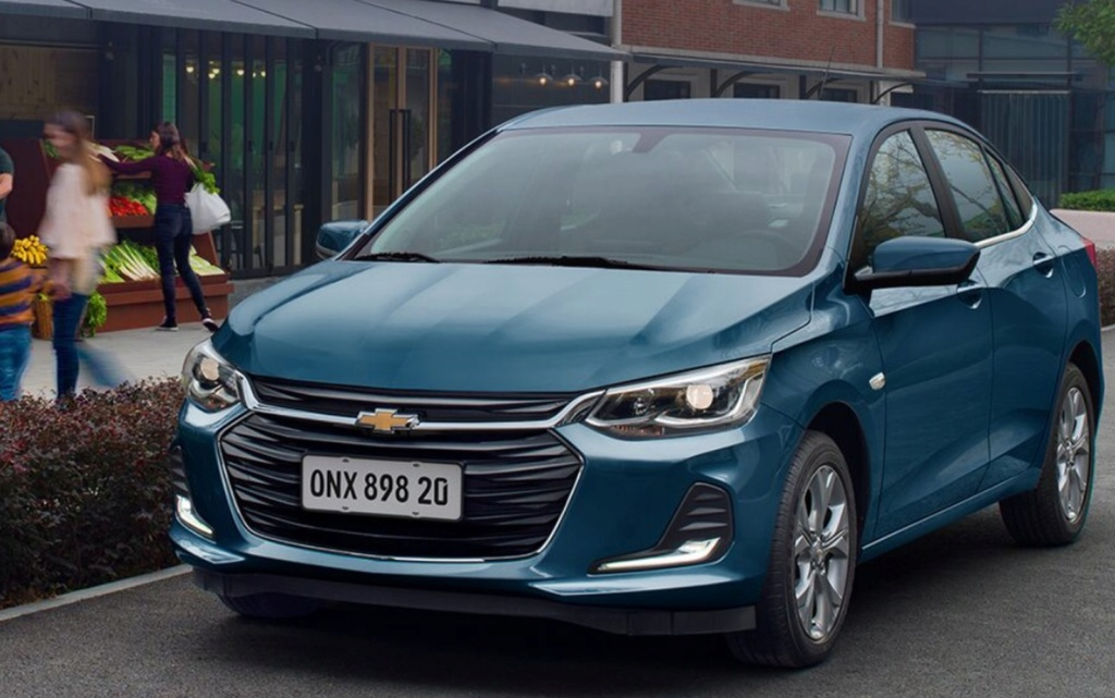 Chevrolet revela nova geração do Onix Onix-s10
