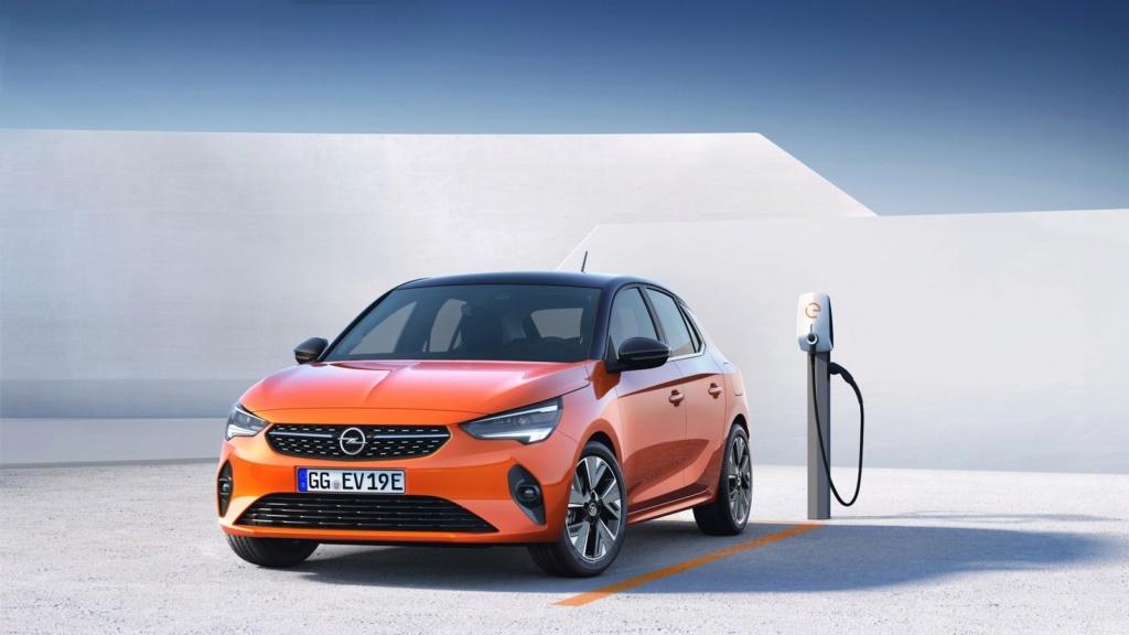 Corsa vira carro 100% elétrico em sua 6ª geração Opel-c10