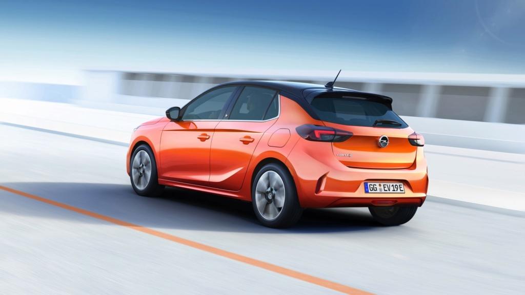 Corsa vira carro 100% elétrico em sua 6ª geração Opel-c11