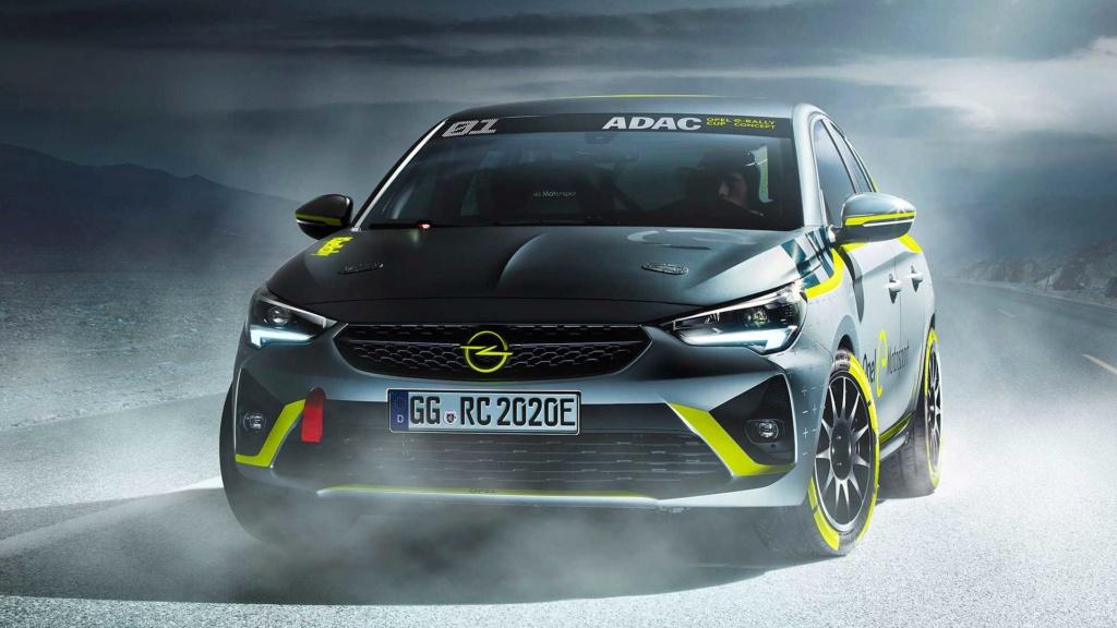 Novo Corsa elétrico terá categoria própria de rali Opel-c14