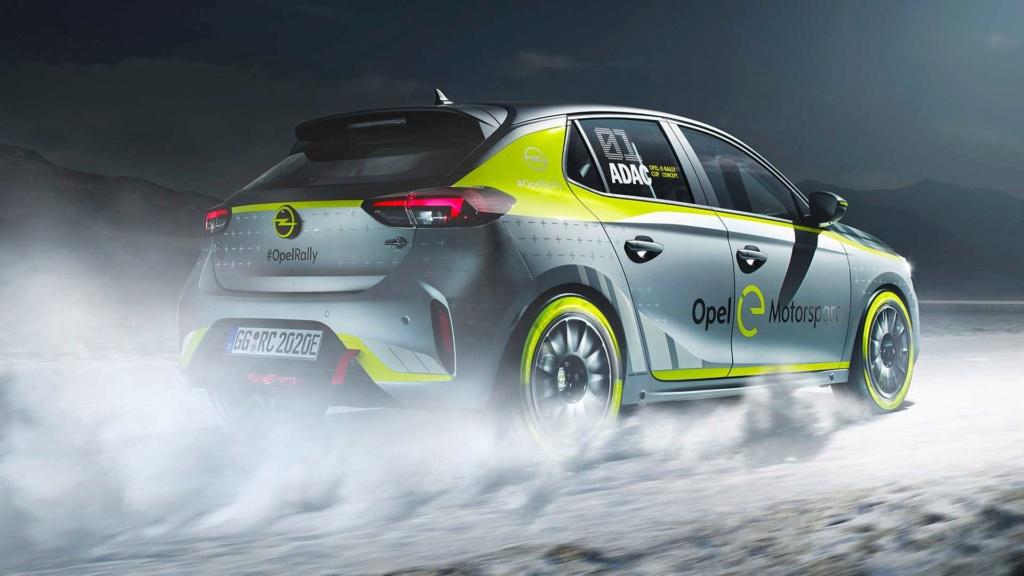 Novo Corsa elétrico terá categoria própria de rali Opel-c15