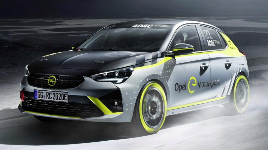 Novo Corsa elétrico terá categoria própria de rali Opel-c16