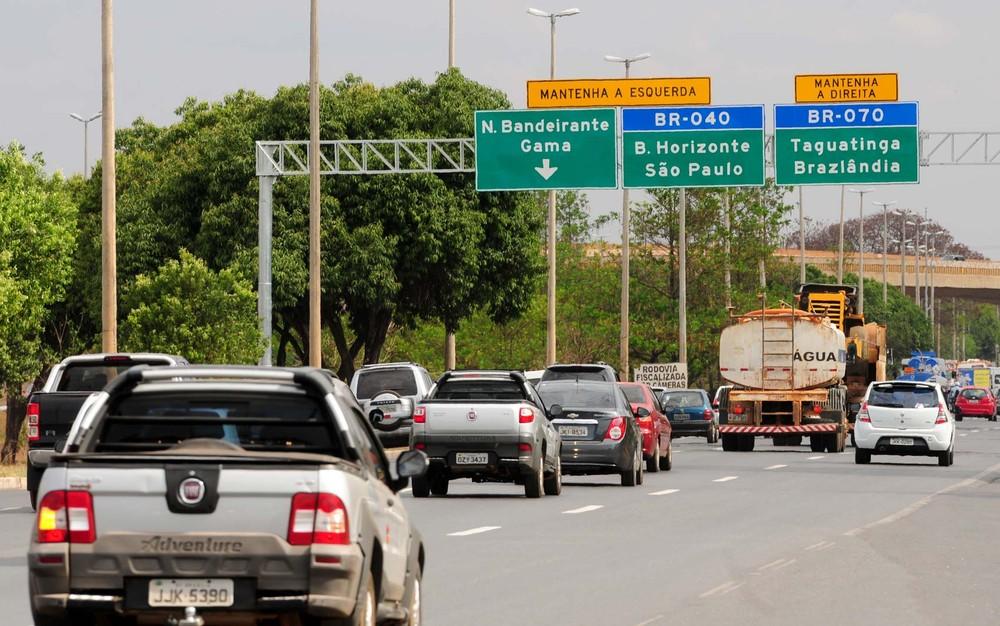 Consideradas de alto risco, rodovias federais no DF não possuem radares em funcionamento Pedrov10