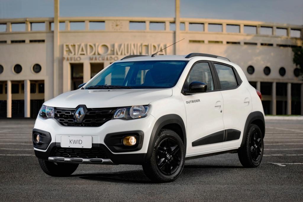 Renault Kwid Outsider estreia visual mais 'aventureiro' por R$ 43.990 Renaul10