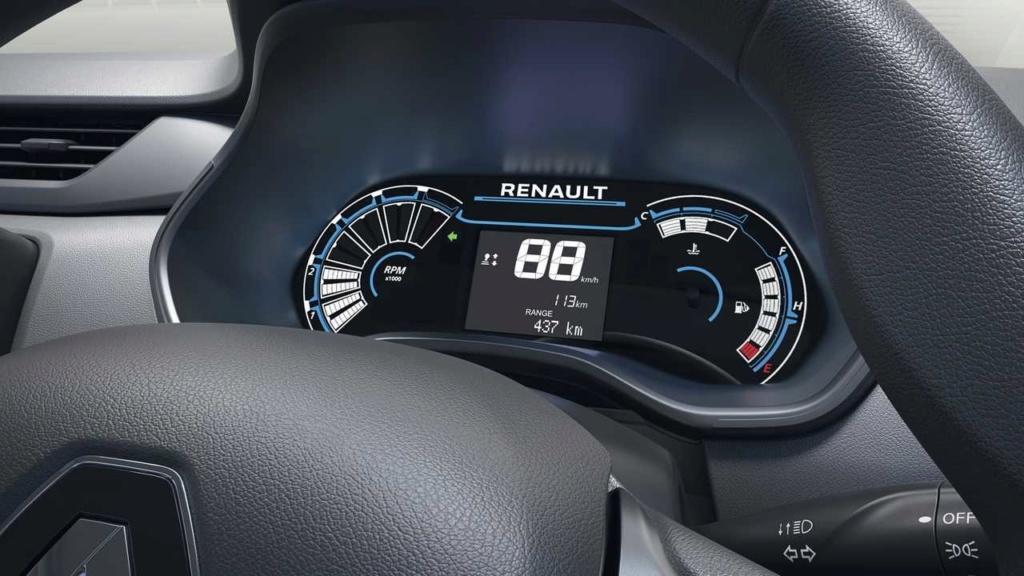Renault Kwid reestilizado terá elementos da minivan Triber na cabine Renaul20