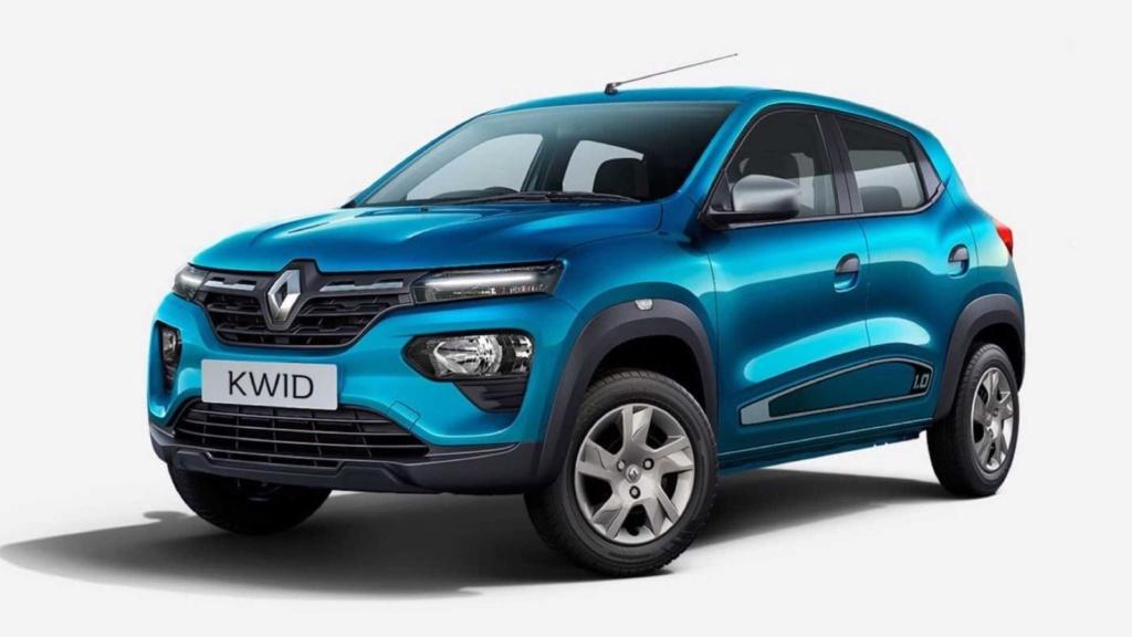 Renault Kwid ganha reestilização na Índia inspirada no elétrico K-ZE Renaul26
