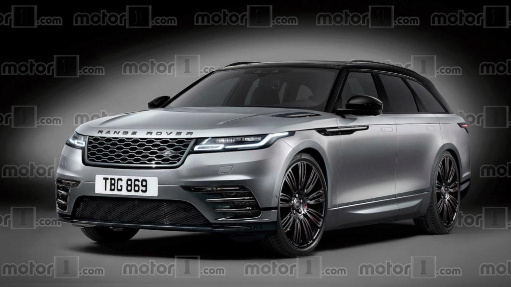 Land Rover terá inédito SUV elétrico entre Evoque e Velar Render12