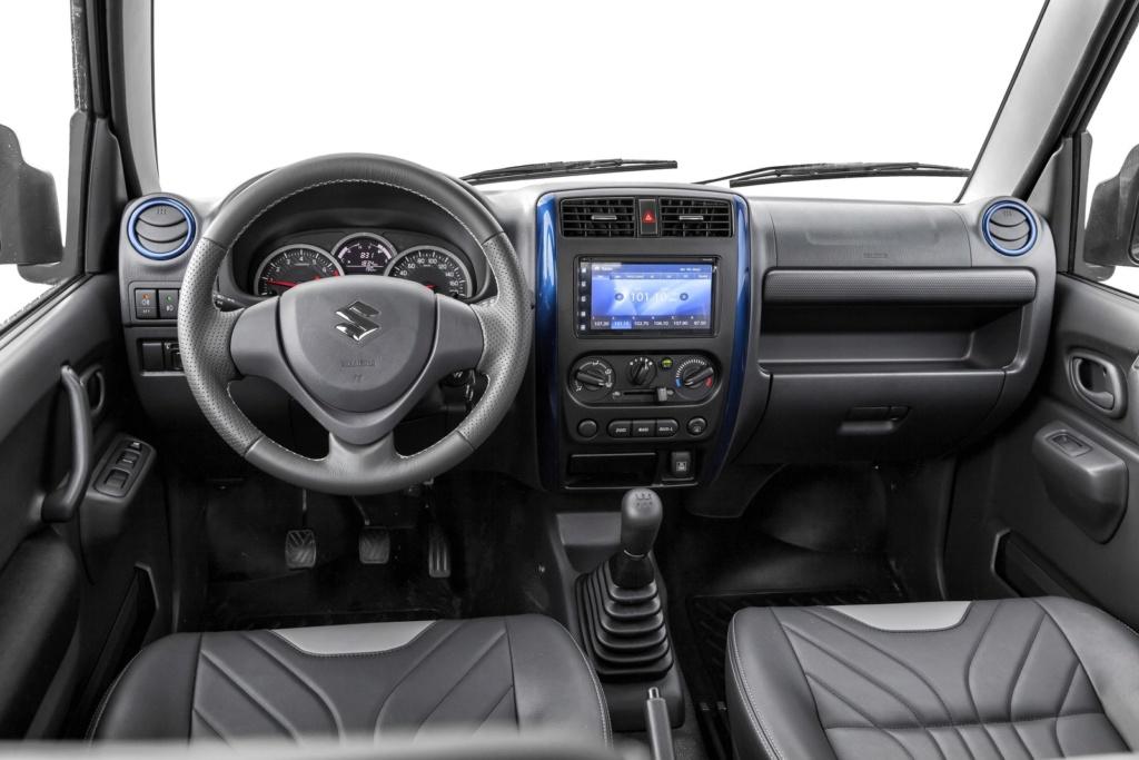 Suzuki Jimny tem novidades na linha 2020; nova geração chega no segundo semestre Suzuki10