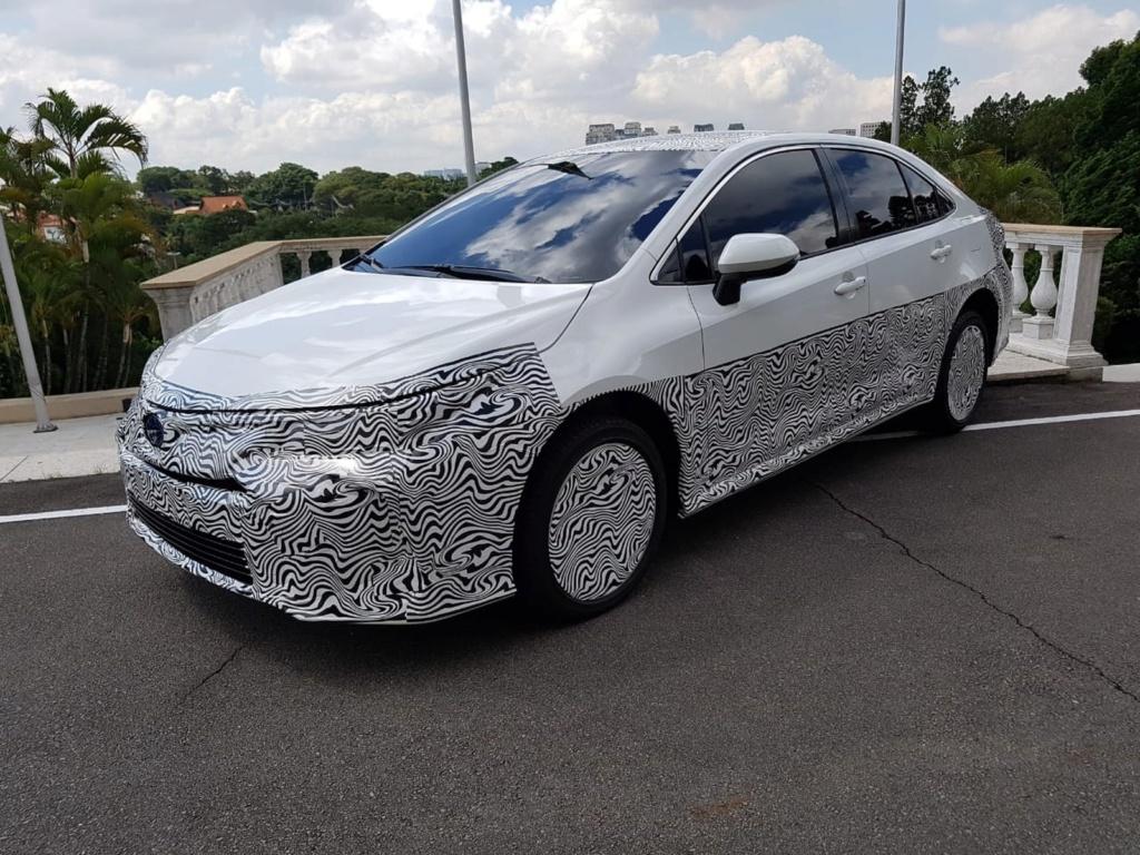 Toyota Corolla híbrido flex tem dados de potência revelados Toyota21