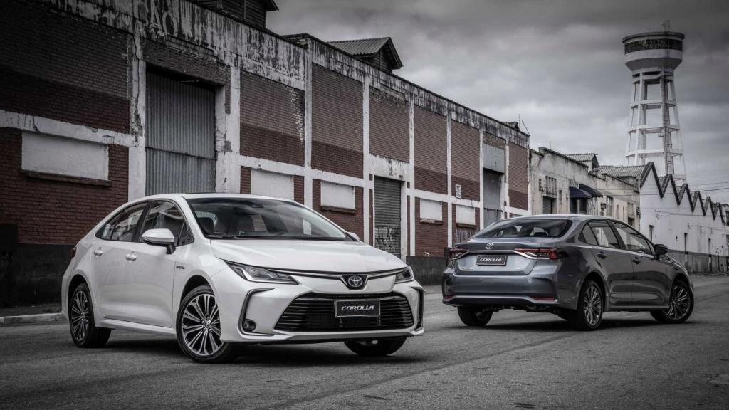 Toyota lança novo Corolla, primeiro carro híbrido flex, por R$ 124.990 Toyota44