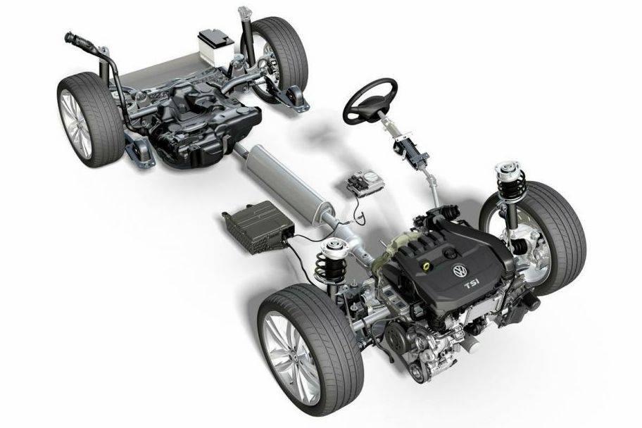 Nova geração do Volkswagen Golf terá sistema híbrido de 48 volts Tsi-ev10