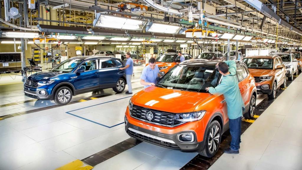 Já foram produzidos mais de 2 milhões de carros no Brasil em 2019, revela Anfavea Volksw25