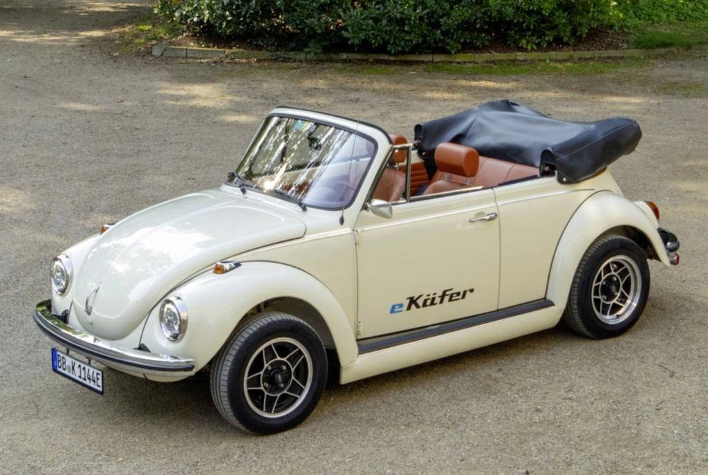 Fusca clássico vira elétrico no Salão de Frankfurt, e pode custar até R$ 450 mil Volksw28