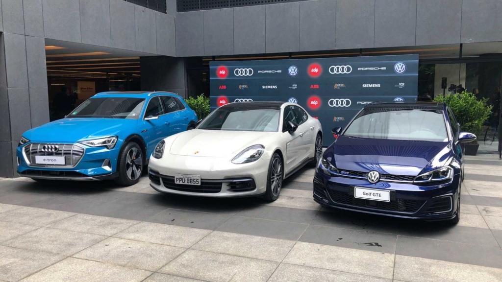 VW, Audi e Porsche firmam parceria para rede de recarga ultrarrápida no Brasil Volksw32