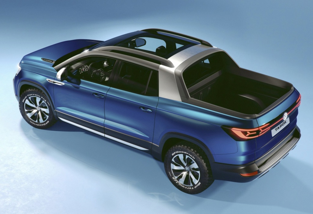 Volkswagen registra a picape Tarok, rival da Fiat Toro Volksw40