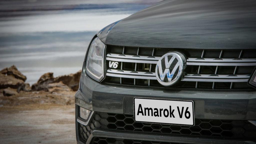 Volkswagen Amarok V6 com 258 cv atrasa e fica para 2020 Vw-ama11