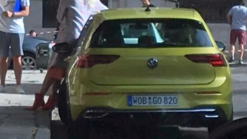 Novo VW Golf 2020 enfim aparece sem camuflagem Vw-gol10