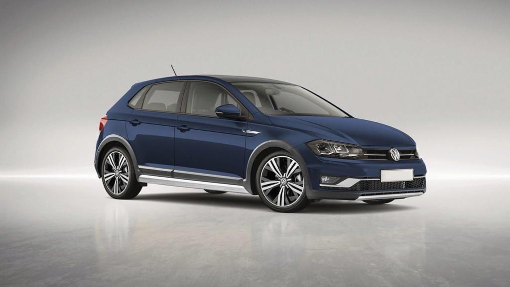 Volkswagen T-Sport deve ser o nome do crossover do Polo Vw-pol10