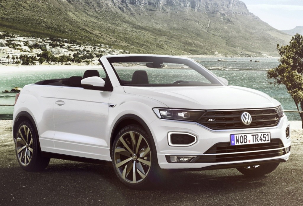 Volkswagen revela o T-Roc Cabriolet, um SUV conversível Vw-t-r10
