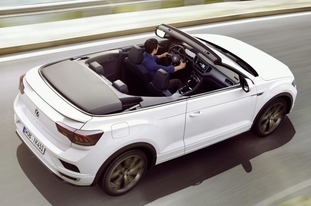 Volkswagen revela o T-Roc Cabriolet, um SUV conversível Vw-t-r12