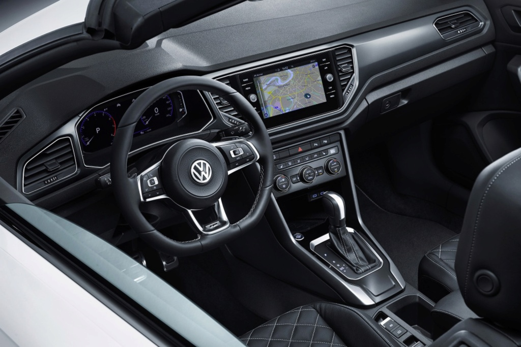Volkswagen revela o T-Roc Cabriolet, um SUV conversível Vw-t-r13