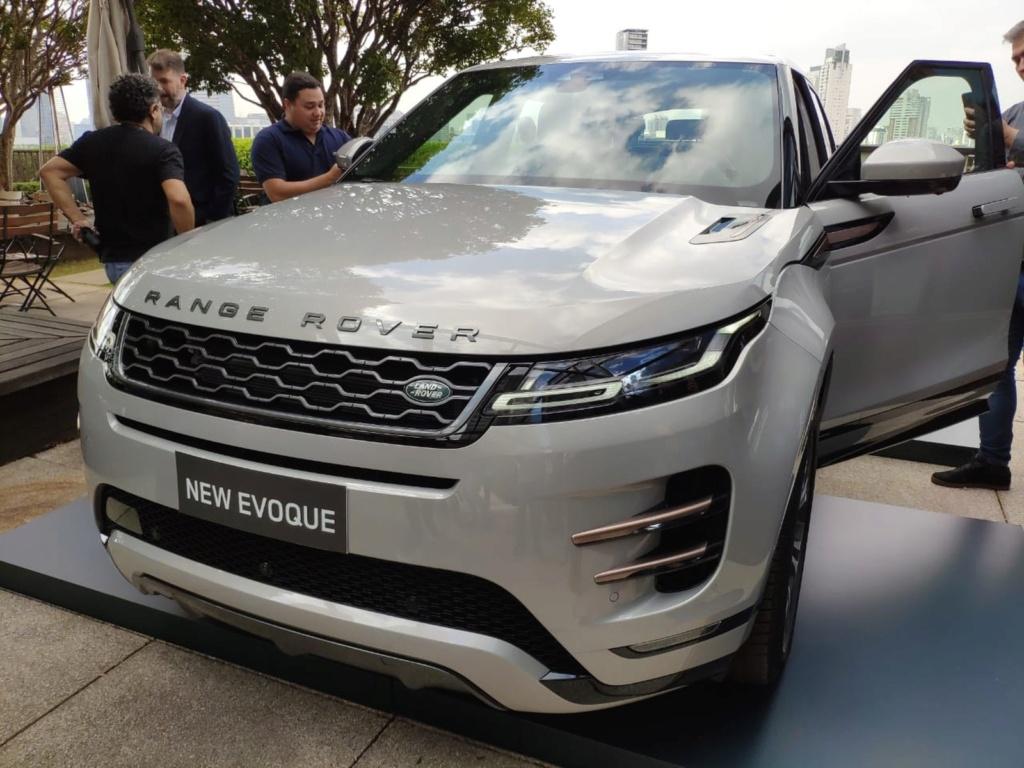Land Rover lança novo Evoque no Brasil por R$ 312.900 Whatsa16