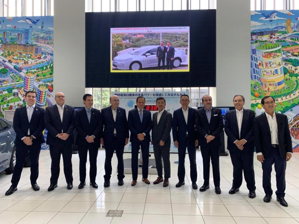 Toyota anuncia investimento de R$ 1 bilhão para produzir novo carro no Brasil Whatsa33