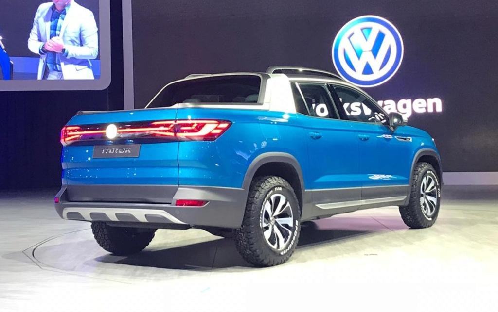 Volkswagen registra a picape Tarok, rival da Fiat Toro Whatsa43