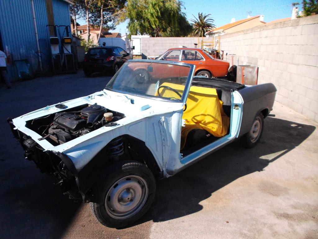 Cabriolet  304 début de restauration - Page 2 Restau11