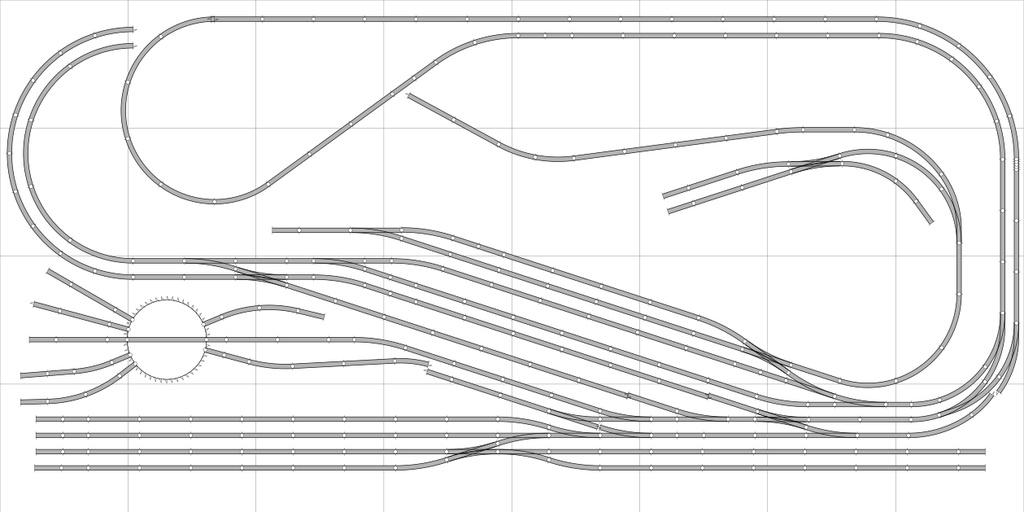 Boucle de retournement (longue) et cantons Phase210