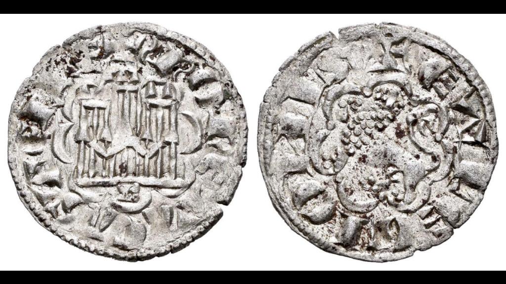 Dinero de la IIª Guerra de Granada de Alfonso X, ceca de Burgos 803410
