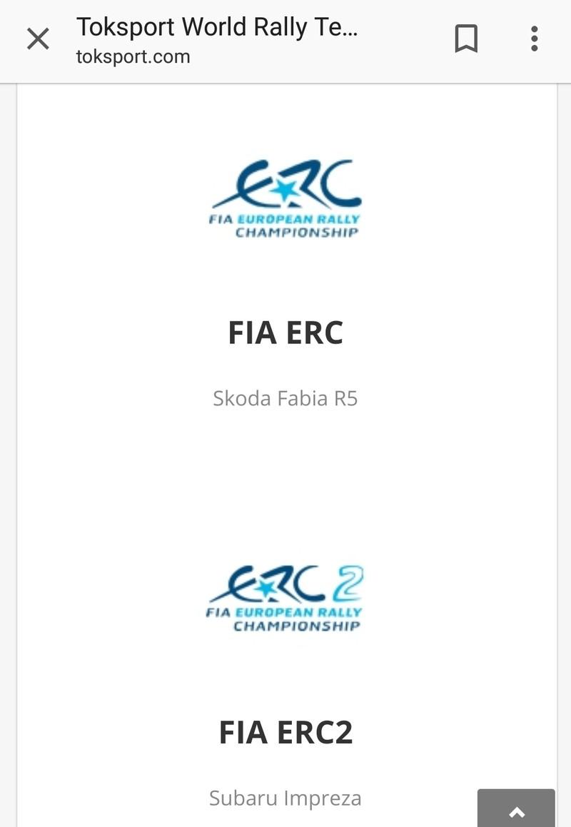 FIA European Rally Championship: Temporada 2018 - Página 3 20180210
