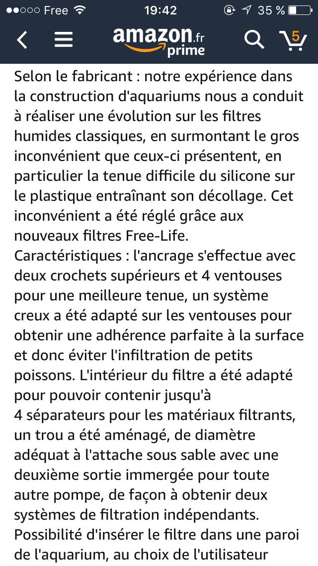Filtre MTB 15188010