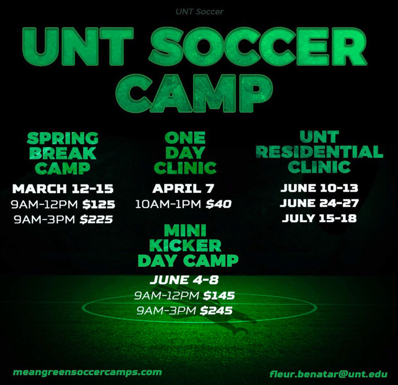 Spring Break Soccer Camp @UNT 15205310