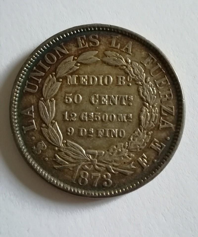 50 centavos 1.873 Bolivia 20180313