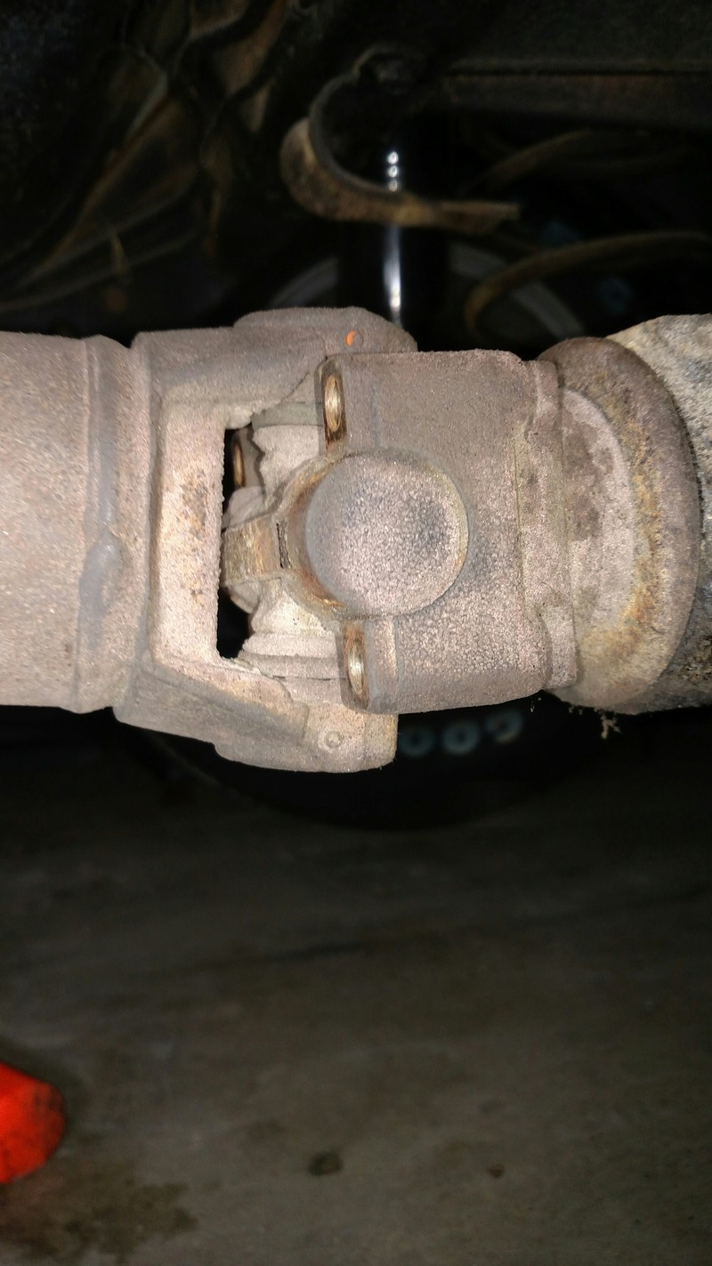 Driveshaft Stuck? 20180310