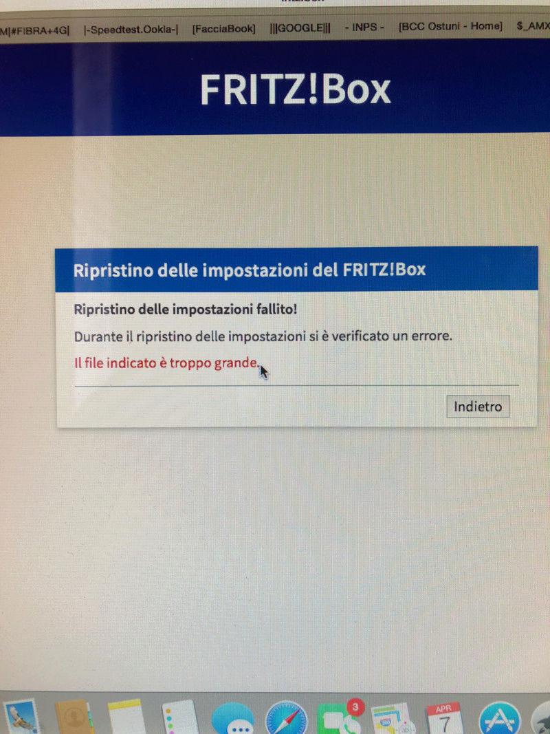 fritz 7590 - TIM PROFILO 35B // configurazioni dsl e voip - confronto 15231010