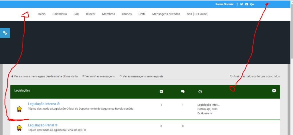 Personalização do overall_header Screen12