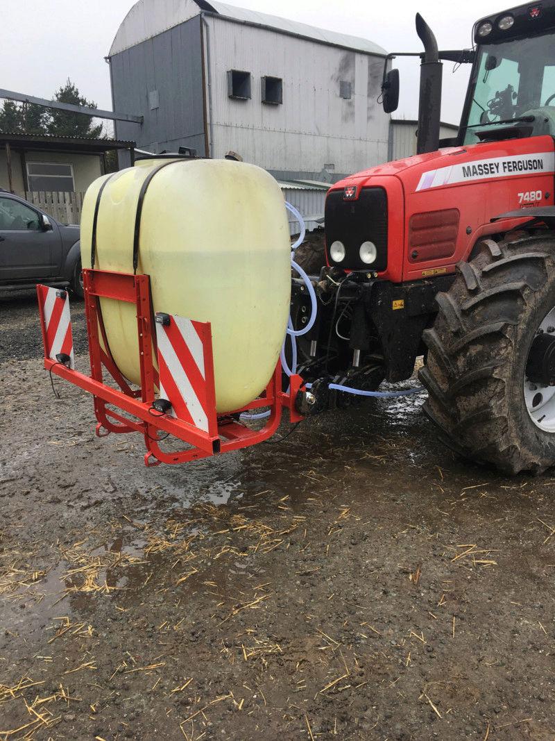 Liquid ferlizer project on horsch co drill 15234311