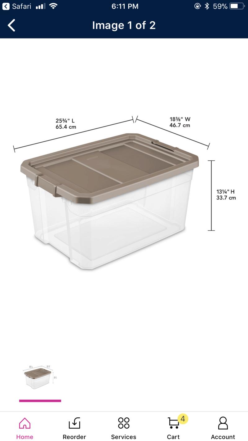 Upgrading the bin! 15269410