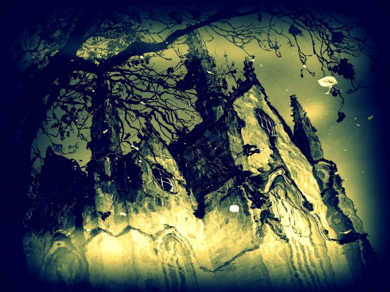 Reflets gothiques.  P1340411