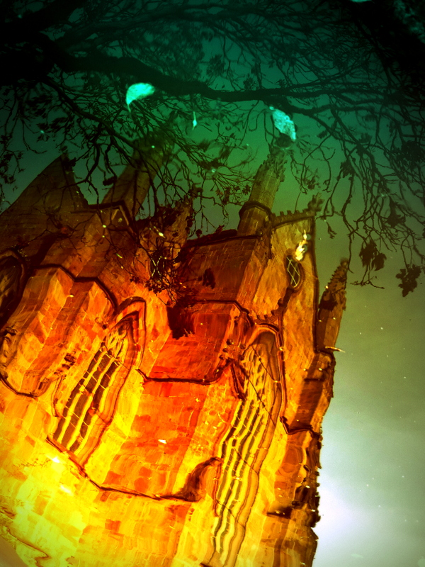 Reflets gothiques.  P1340412