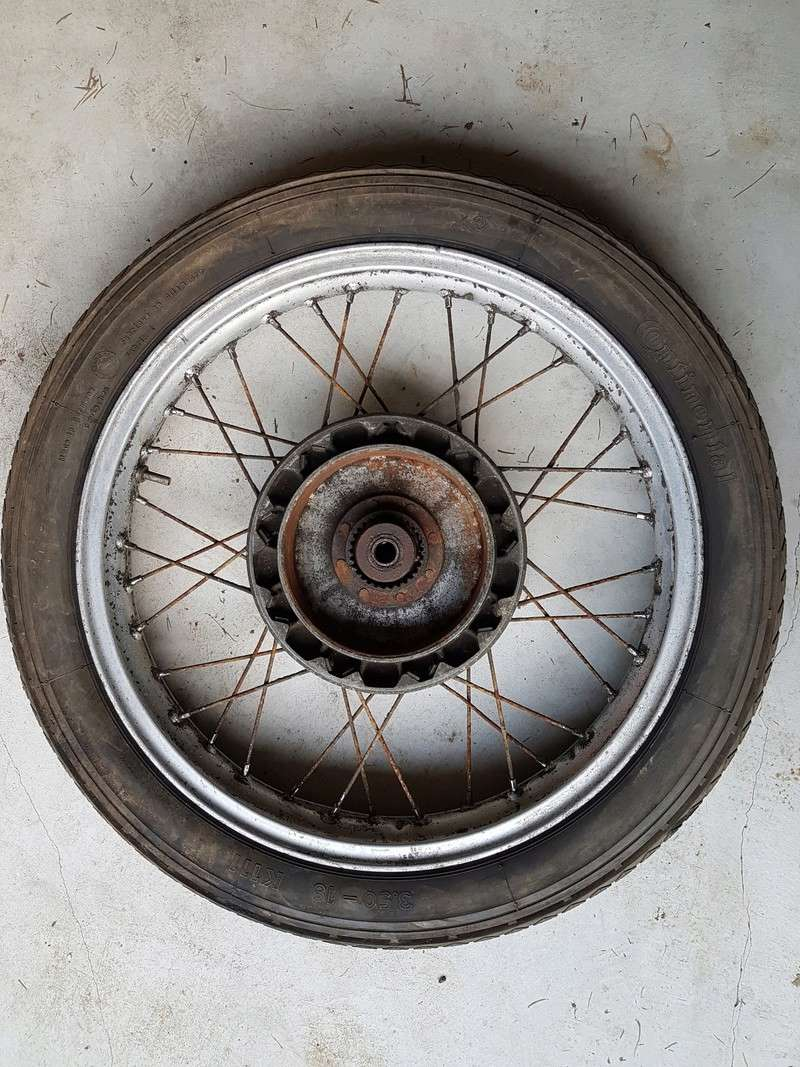 Restaurer une roue de R27 20180516