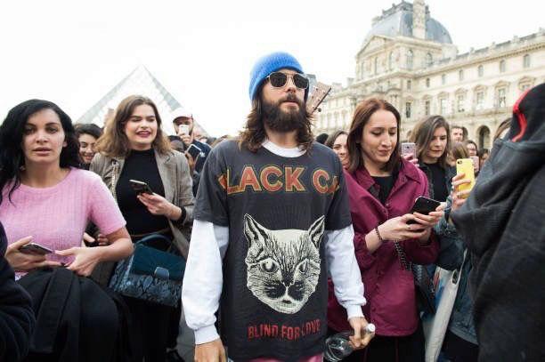 Jared leto au louvre a paris avril 2018 15253310