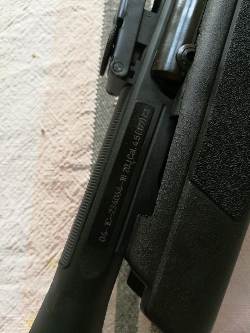 Besoin d'aide nouvelle arme 20180510