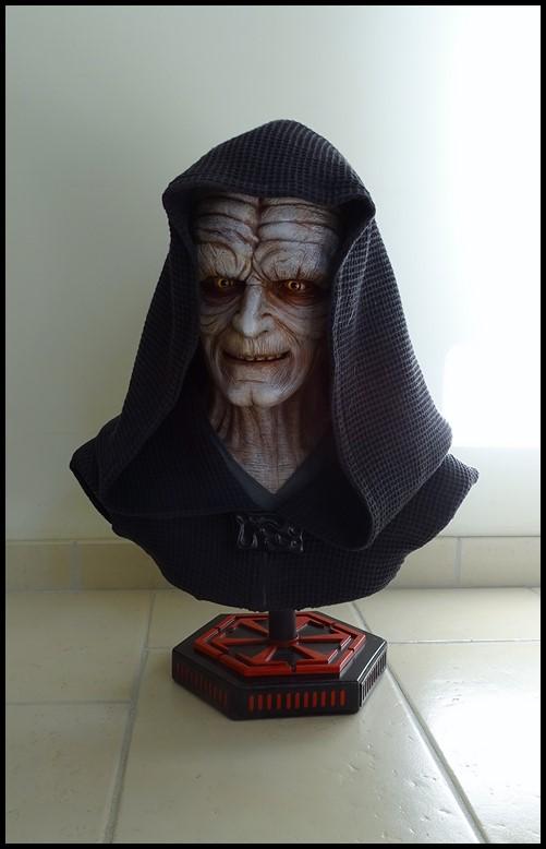 Star Wars : Palpatine lifesize bust Palpat10